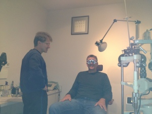 Dr. Reagin going the extra mile to take care of my eyes