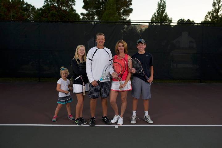 Howes Tennis Family