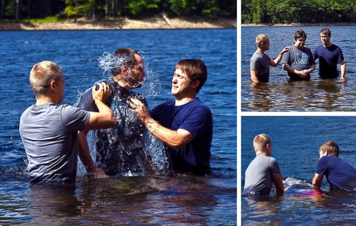 Valley Town Baptisms