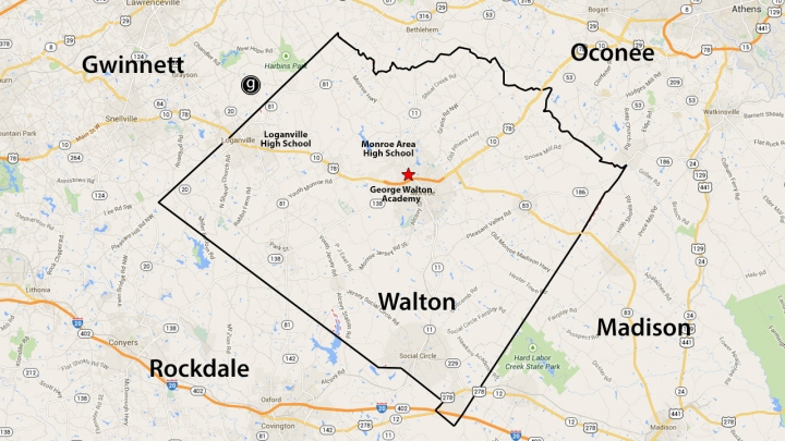 Walton Map