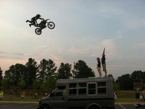 Motorcycle Jump from Sports Camp 2011