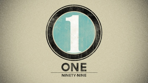One over Ninetynine
