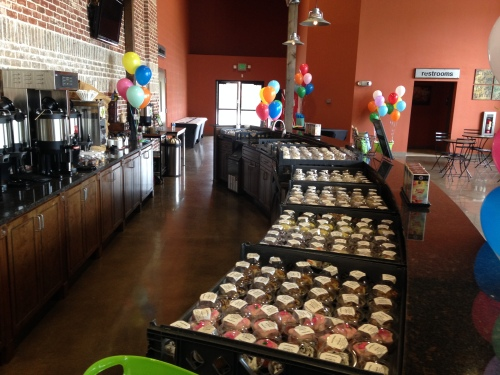 Thank you Special Kneads & Treats for providing 350 cupcakes for our 10th Birthday Party.