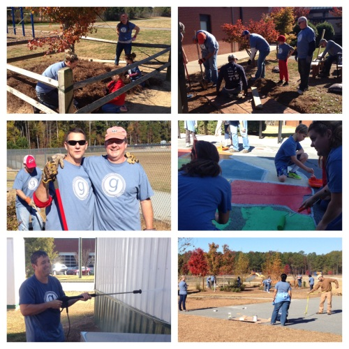 Graystone Serves was a great opportunity to serve our community.
