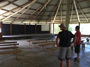 Camp open air auditoirum