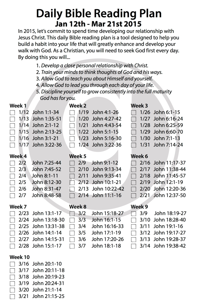 Daily Bible Reading_Jan 12 thru Mar 21