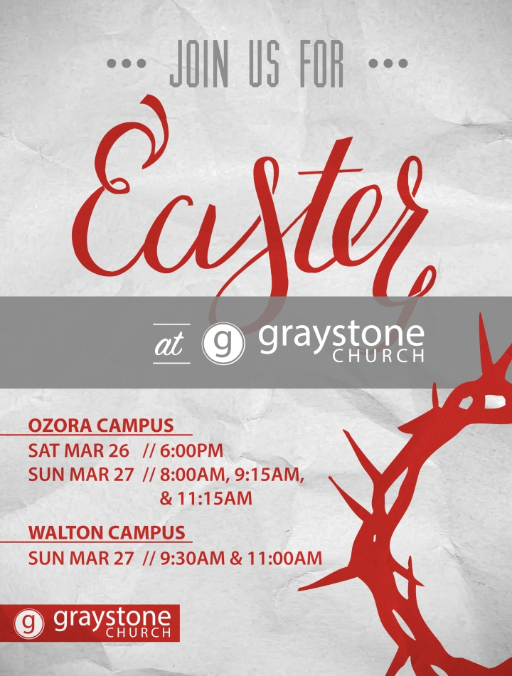 Easter At Graystone_email promo