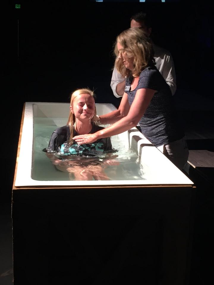 Claire's Baptism