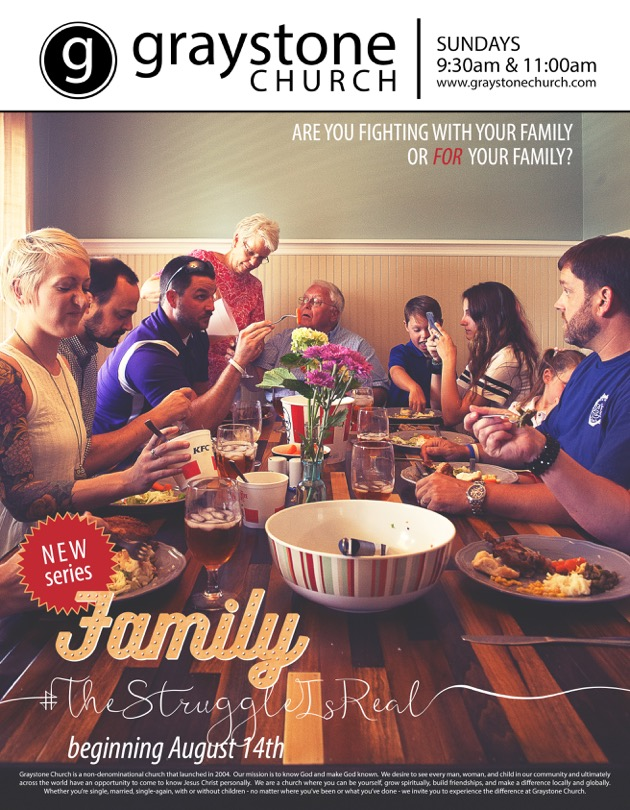 Family The Struggle Is Real mailer_front